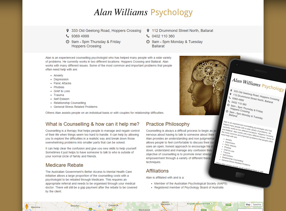 Alan Williams Psychology