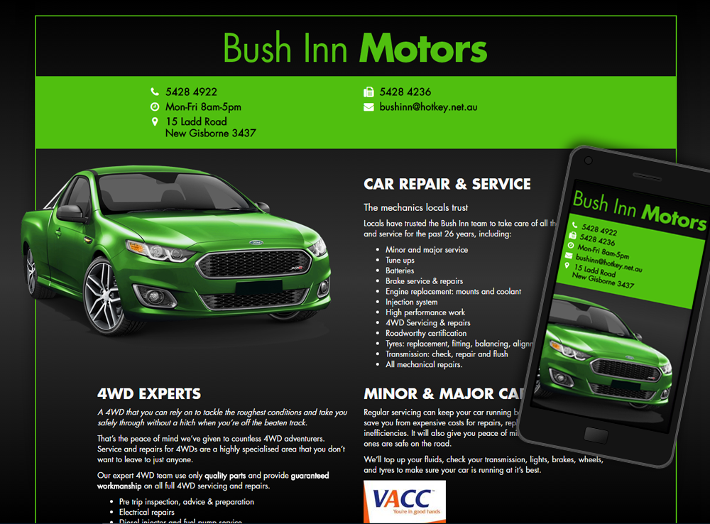 Bush Inn Motors