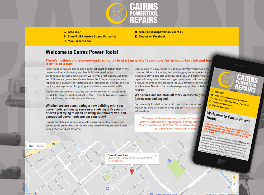 Cairns Power Tool Repairs