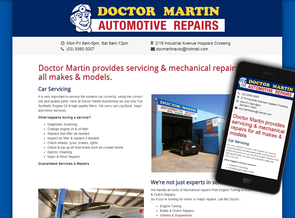 Doctor Martin Automotive
