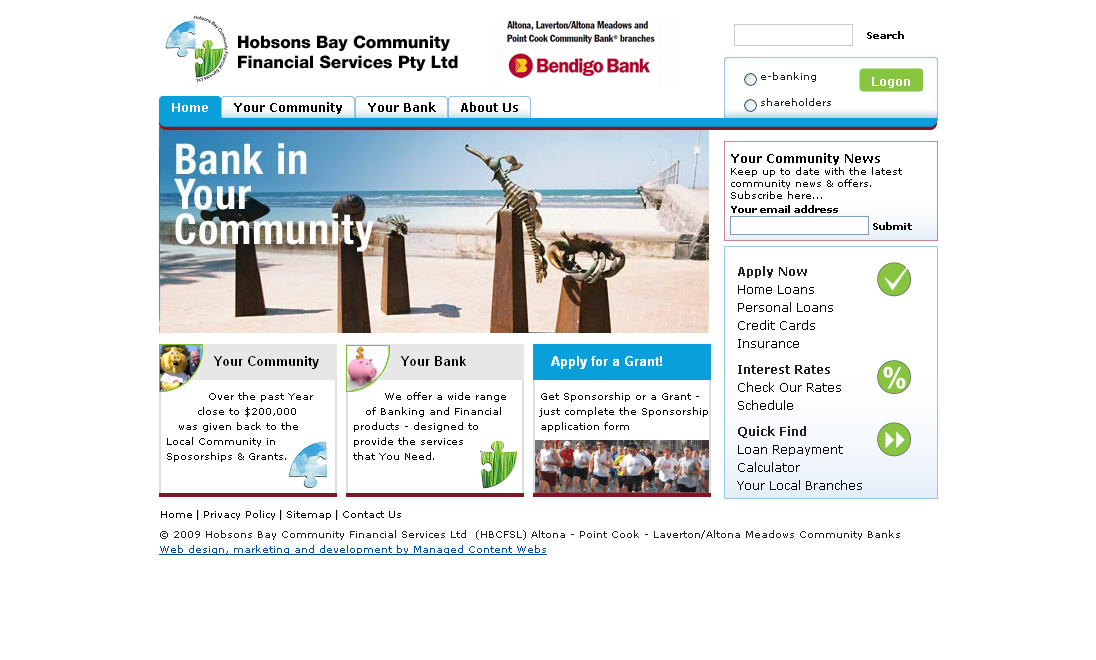 Hobsons Bay Community Financial Services