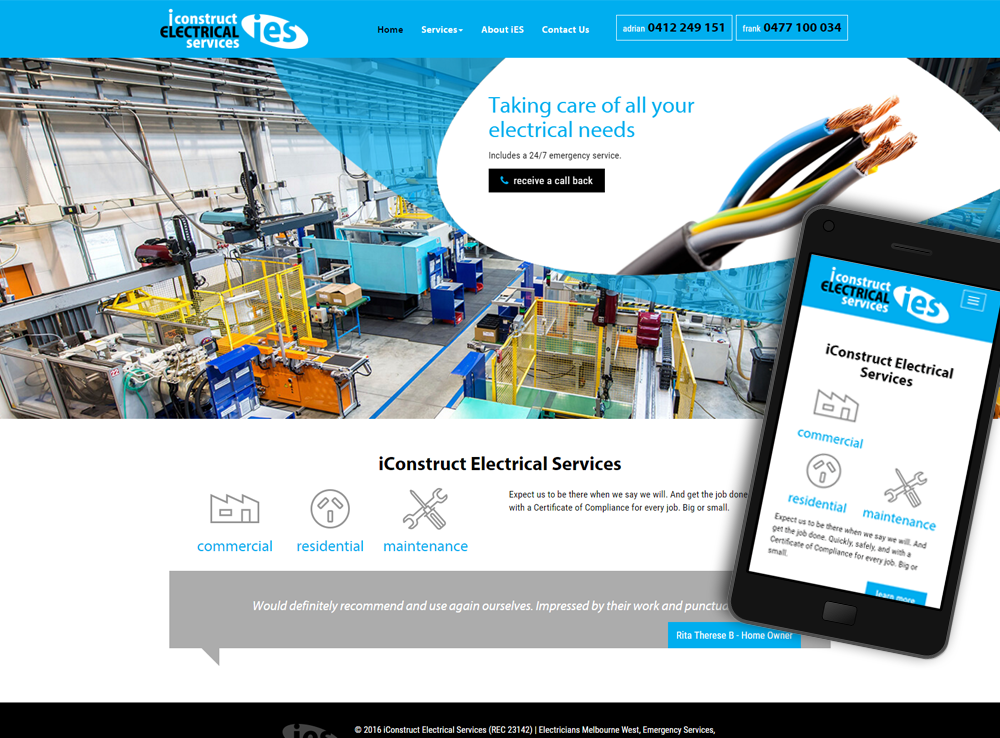 iConstruct Electrical Services