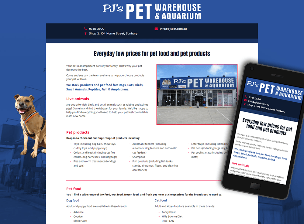 PJs Pet Warehouse & Aquarium