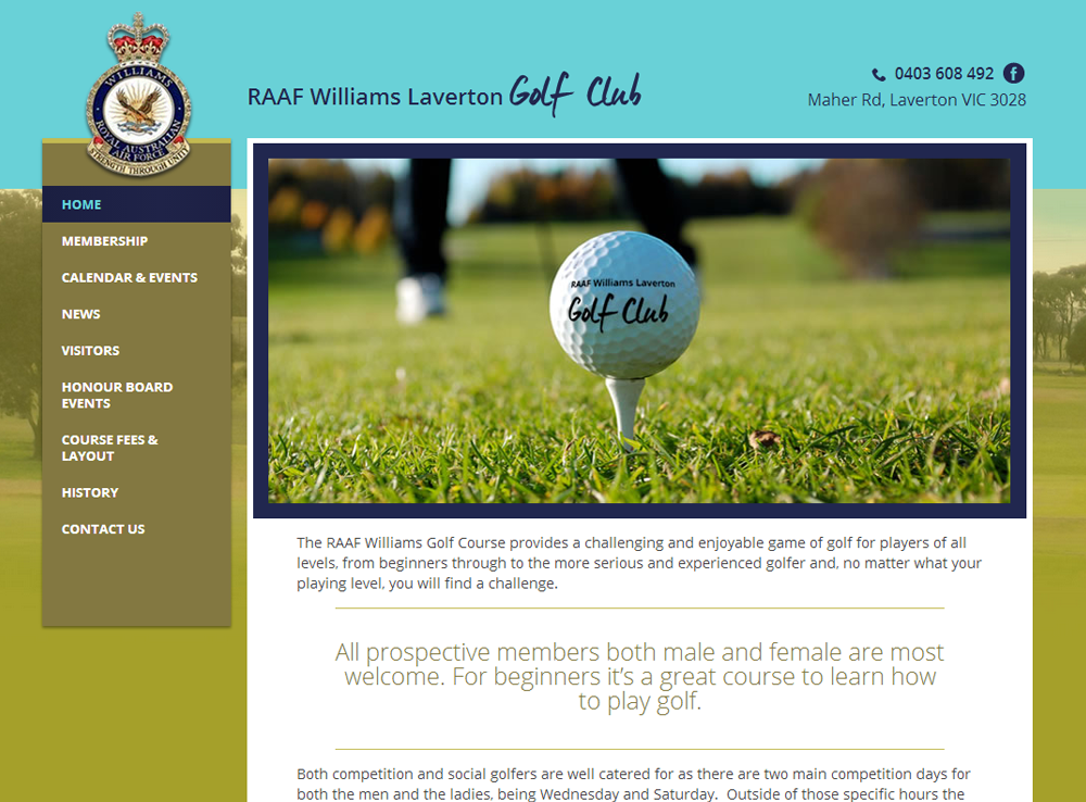 RAAF Williams Laverton Golf Club