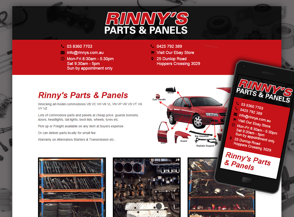 Rinny's Parts & Panels