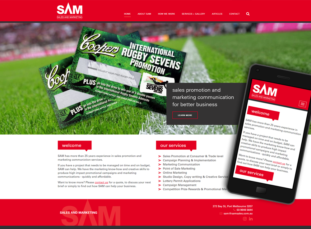 SAM Sales and Marketing