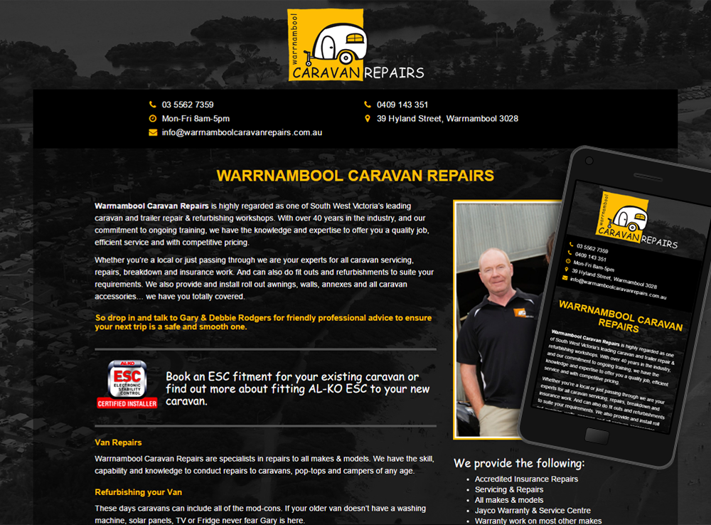 Warrnambool Caravan Repairs