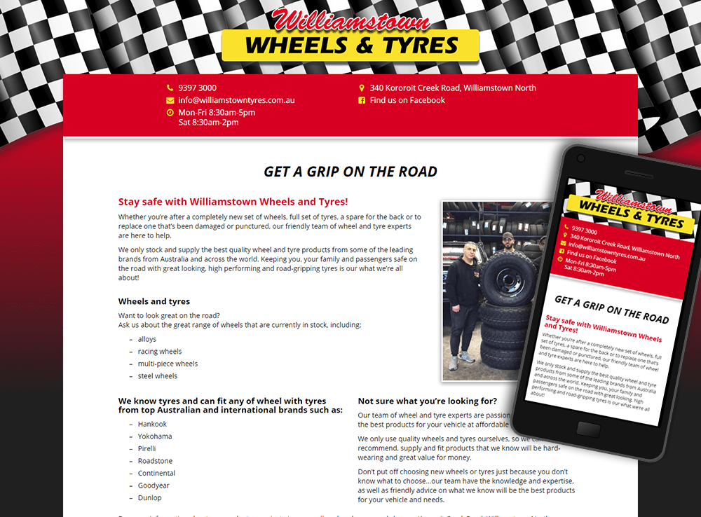 Williamstown Wheels & Tyres