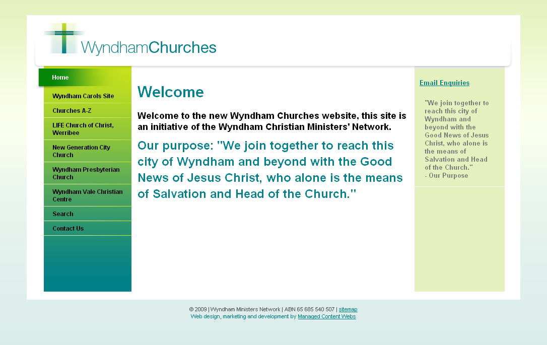 Wyndham Churches