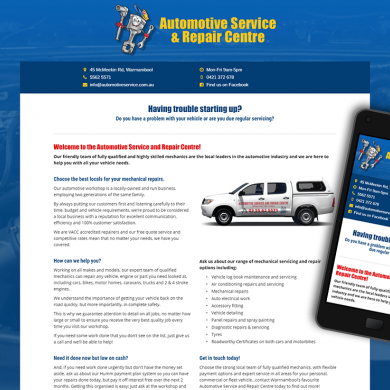 Automotive Service & Repair Centre