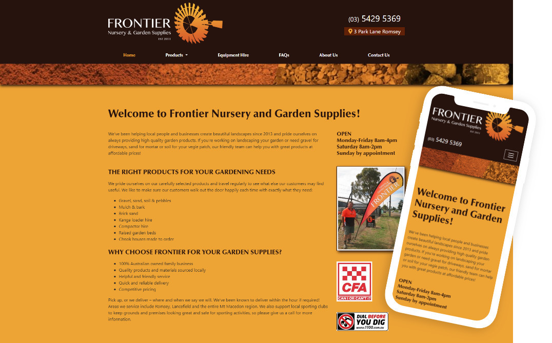 Frontier Nursery & Garden Supplies