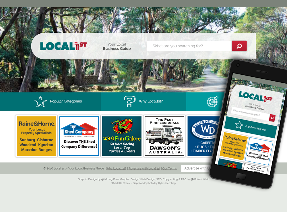 Local 1st - Your Local Business Guide