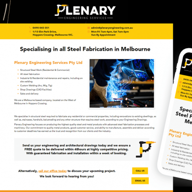 Plenary Engineering Services
