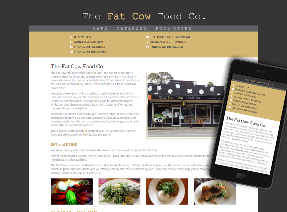The Fat Cow Food Co