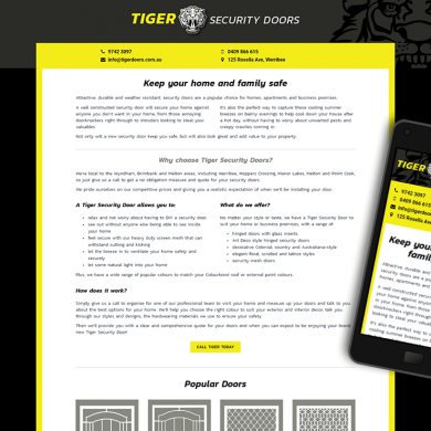 Tiger Security Doors